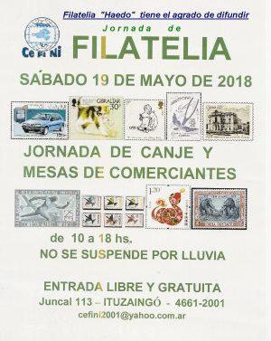 Filatelia mayo 2018 Cefini 001
